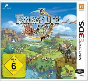 Nintendo 3DS game Fantasy Life boxed