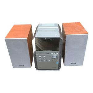 Panasonic SA-PM19 Stereo System 5 Disc Changer Cassette AM/FM Radio with Remote