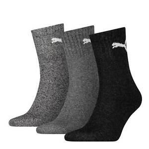 Puma Sports Socks 3 6 9 12 15 Pair Shorts Crew Ladies Men's Choice of Colours