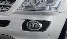 Mercedes W164 ML Oval Chrome fog light frames to 07/2008