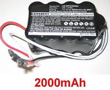 Batterie 2000mAh TB01020803-092 TB01020701 230705-9019 Pour Primedic DEFI-B M110