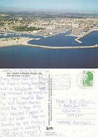1987 SAINT CYPRIEN PLAGE FRANCE COLOUR POSTCARD