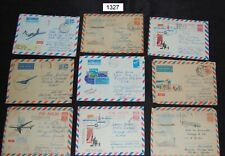 Russia lot of 27 used stationery 1960s-70s  [FD1327]