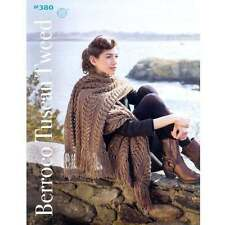 Berroco ::Booklet #380:: Tuscan Tweed yarn 6 desings and accessories