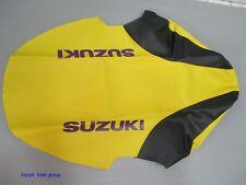 SUZUKI RM125 RM250 T/V 1996-1997 YELLOW-BLACK SEAT COVER  [ES894]