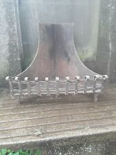 Unusual Very Large Corner Fire Log Basket / Grate