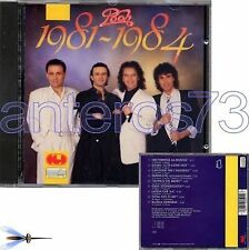 """POOH """"1981-1984"""" RARO CD CGD musicA 1a STAMPA - FUORI CATALOGO"""