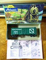 "Athearn 1213 HO Scale 40' Steel Boxcar Assembled Kit ""Ontario Northland"""