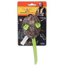 PETMATE JACKSON GALAXY PULL MY TAIL FAT MOUSE KITTEN CAT TOY. FREE SHIP TO USA