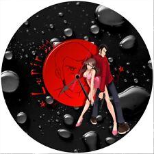 Orologio disco vinil clock orologio da parete color Lupin margot