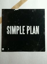 Simple Plan B&W Square Music 4x4 Promo Mini Poster Flyer