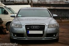 Audi A6 4F C6 04-08 Front Bumper spoiler ABT style lip Valance addon S-Line S6