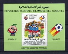 S5600) Comores 1982 MNH Wc Football - World Cup Football S/S