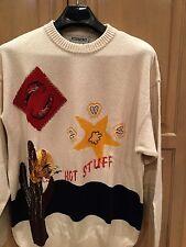 Iceberg Vintage 1993 XL Cotton/Silk Sweater