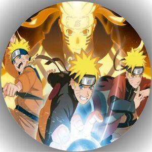 Tortenaufleger Geburtstag Tortenbild Fondant Oblate Naruto L10