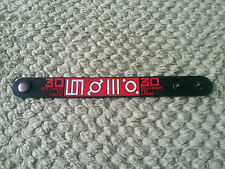 SILICONE RUBBER MUSIC FESTIVAL WRISTBAND/BRACELET:- 30 SECONDS FROM MARS (b)