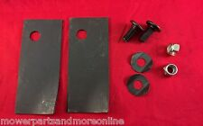 1 Pr Late Model Rover 18 & 20 Inch Mulch and Catch Blade & Bolt Set A03830/672K
