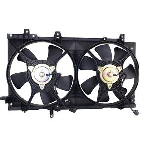 Cooling Fan Assembly New For Subaru Forester 2003-2008 Non-Turbo Model