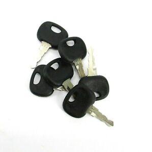 Set of 6 Ignition Keys for John Deere & Volvo Part Number 202