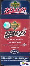 2003 Upper Deck MVP Baseball Factory Sealed 330 Card Tin Factory Set-Jeter++