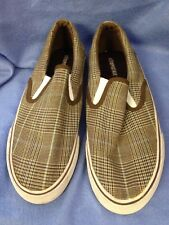 Slip On Aeropostale Shoes Aero Size 8 Brown Green