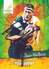 ✺Signed✺ 2016 WALLABIES Rugby Union Card PHIL KEARNS