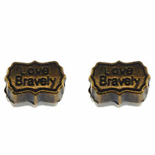 29pcs Antiqued Bronze Engraved Space Beads Alloy Pendants Charms Crafts 34440