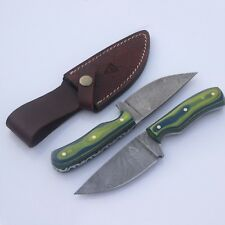 army knife fixed blade fish hunting knife damascus knife