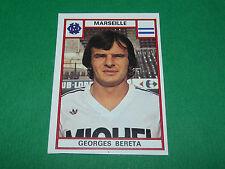 GEORGES BERETA OLYMPIQUE MARSEILLE OM RECUPERATION PANINI FOOTBALL 76 1975-1976