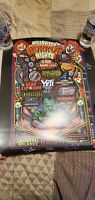 Universal Studios Halloween Horror Nights All Time Screams Poster Autographed!!!