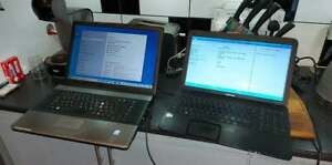 Joblot 2 x Laptops - Toshiba Satellite C850-1KN / Advent 6311 - 583
