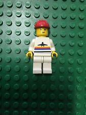 LEGO OMINO CITY AIRPORT CREW Casco MINIFIGURE BIANCO Minifig 6529 6392 6687