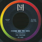 Beatles VINTAGE VERY RARE 1963 VJ ' FROM ME TO YOU ' 45! WITH RARE BRACKETS LOGO