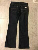 "MICHAEL KORS Womens Jeans Dark Wash Denim Boot Cut Waist 32"" - Size 6 EUC"