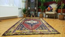 Antique 1900-1930s Turkish Tribal Rug 4'4'' x 8'3''