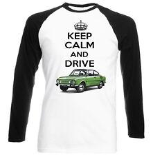 SKODA 110 R Coupe Keep Calm-Nuovo T-shirt Cotone-Tutte le taglie in magazzino