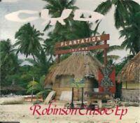 CUD Robinson Crusoe EP (CD, 4 track EP) breaks, electro, tribal, indie rock,