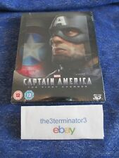 Captain America The First Avenger 3D/2D Blu-ray ZAVVI Lenticular STEELBOOK OOP