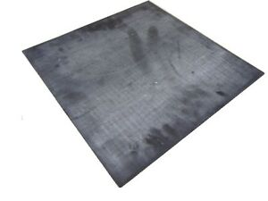 """Butyl Rubber Sheet, 60A, Adhesive Backed, 1/8"""" x 12"""" x 12"""""""