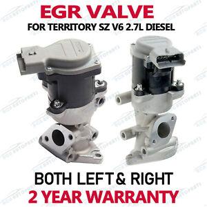 Left & Right EGR Valve for Ford Territory 2.7ltr 276DT V6 SZ 2011-16 Gas Return