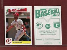 1993 Panini Baseball Sticker St.Louis Cardinals #194 Ozzie Smith