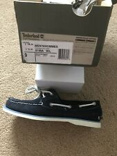Timberland Classic 2 Eye Earthkeeper Boat Shoes Navy RRP £105