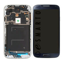 Samsung Galaxy S4 i545 L720 R970 NO LOGO Blue LCD Touchscreen w/ Frame Assembly
