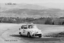 Fiat Abarth 1000 TC Corsa 1964 –winner Col Bayard hillclimb 1965–Fiat 500 -photo