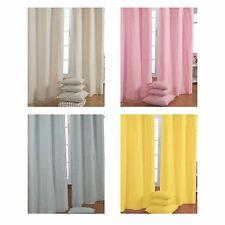 Homescapes Modern 100% Cotton Curtains & Pelmets