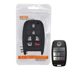 Silicone Key Cover For Kia Sedona Grand Carnival Case Fob Holder