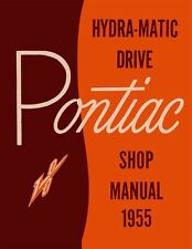 1955 Pontiac Hydra-Matic Transmission Shop Service Repair Manual Book Guide OEM
