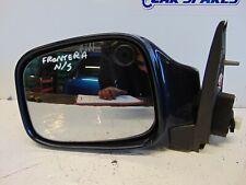 Vauxhall Frontera 98-04 Electric door wing mirror Passenger Left Blue 5 pin