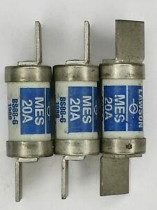 MES20 LAWSON FUSE LINK20AMP 415VAC