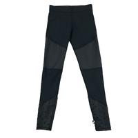 Terez Women Leggings Size S Black Athletic Pants Stars Cut-Out Design Stretch